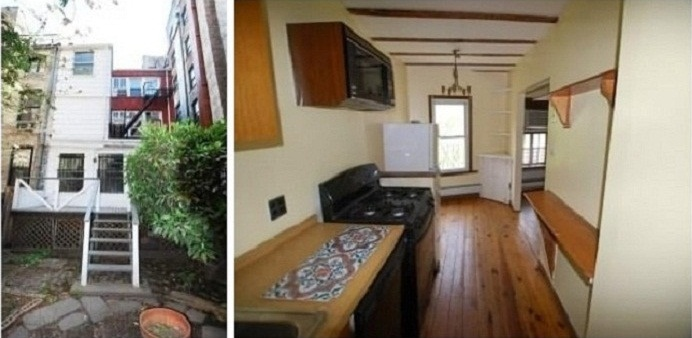 townhouse located in Greenwich Village