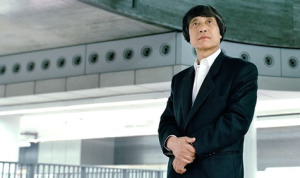 Architect Tadao Ando In A building he worked on