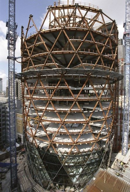 materials used in gherkin construction