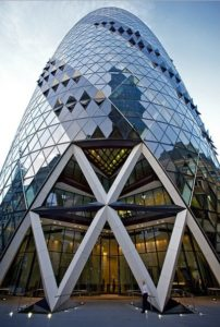 The Gherkin Building, 30 St Mary Axe, London | Architecture | Design