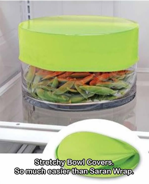 Stretchy bowl covers