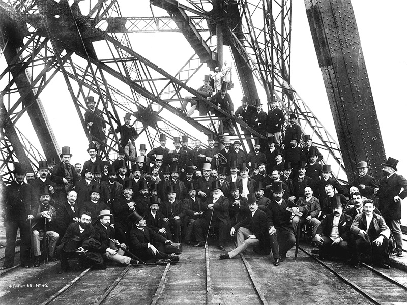 Team That Worked On eiffel tower