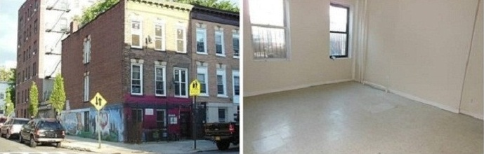 townhouse in the Bronx