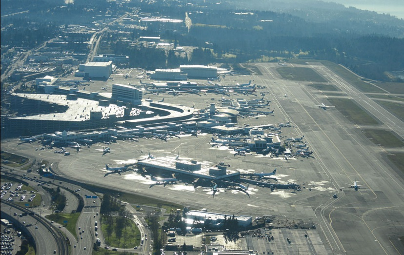 Sea Tac Airport Exterior