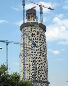 torre agbar construction