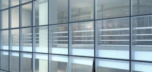 Interior curtain walling