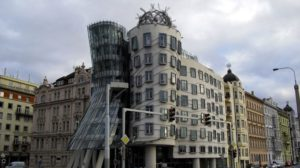 Dancing House Building, Prague by Frank Owen Gehry