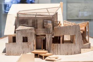 Frank Gehry House Architectural Model