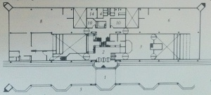 Semi conductor complex floor plan