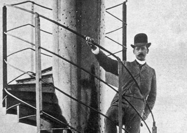 Gustave eiffel on Completion Of Eiffel Tower