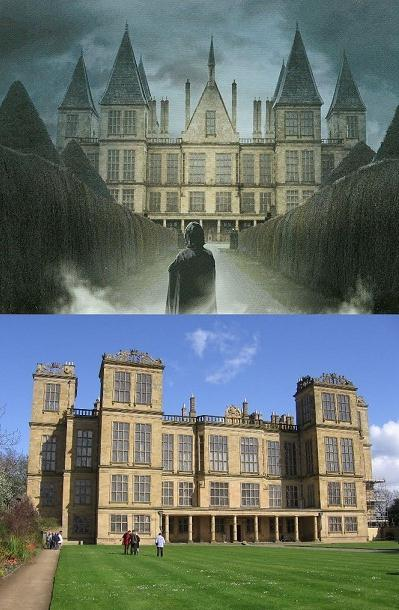 Hardwick hall as Malfoy manor in Harry potter series