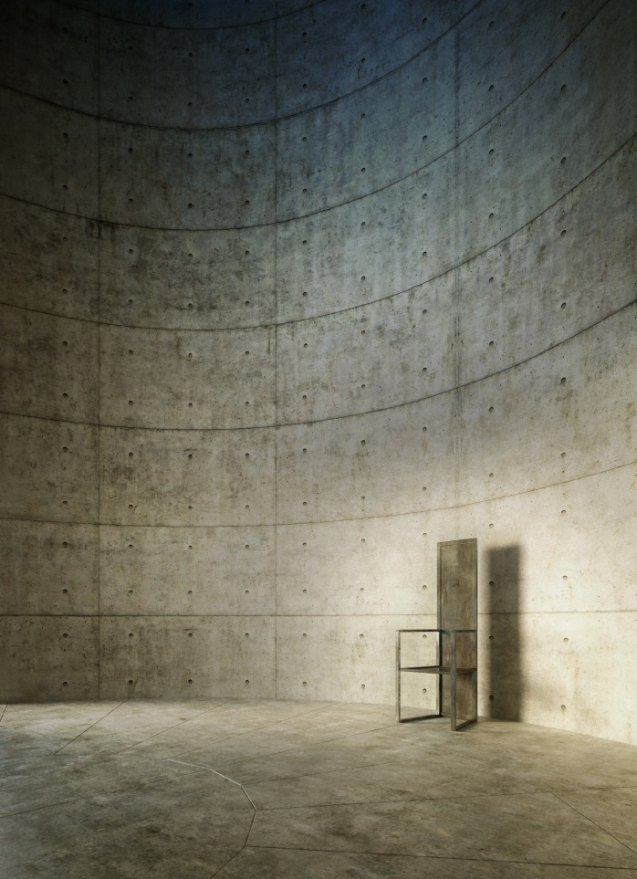Meditation Space unesco by Tadao Ando