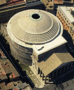 Roman Pantheon Architecture Design Story and History