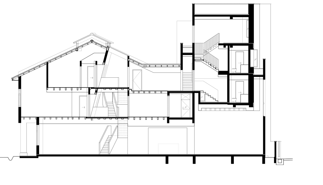Architecture Drawing Png what is a building section? – types of sections in architectural