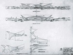 structure of TWA Terminal