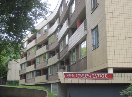Spa Green Estate by Berthold Lubetkin