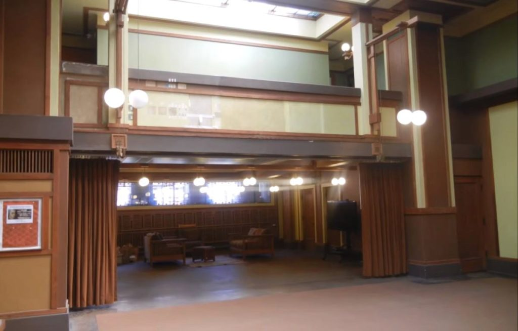 unity temple Foyer room