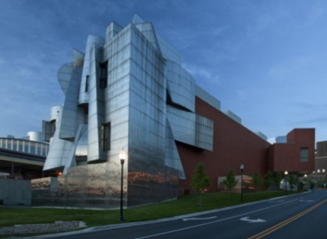 Weisman Art Museum Side Elevation