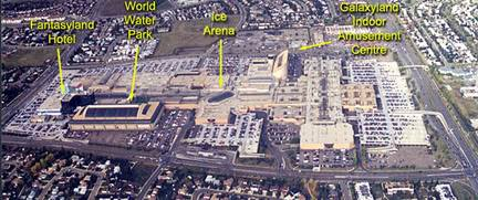 Zoning Of West Edmonton Mall