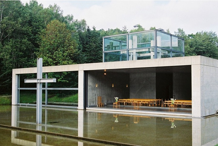 Church on the Water, Hokkaido by Tadao Ando