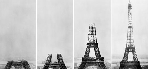 construction facts of Eiffel Tower