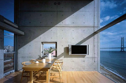 Tadao Ando House interior