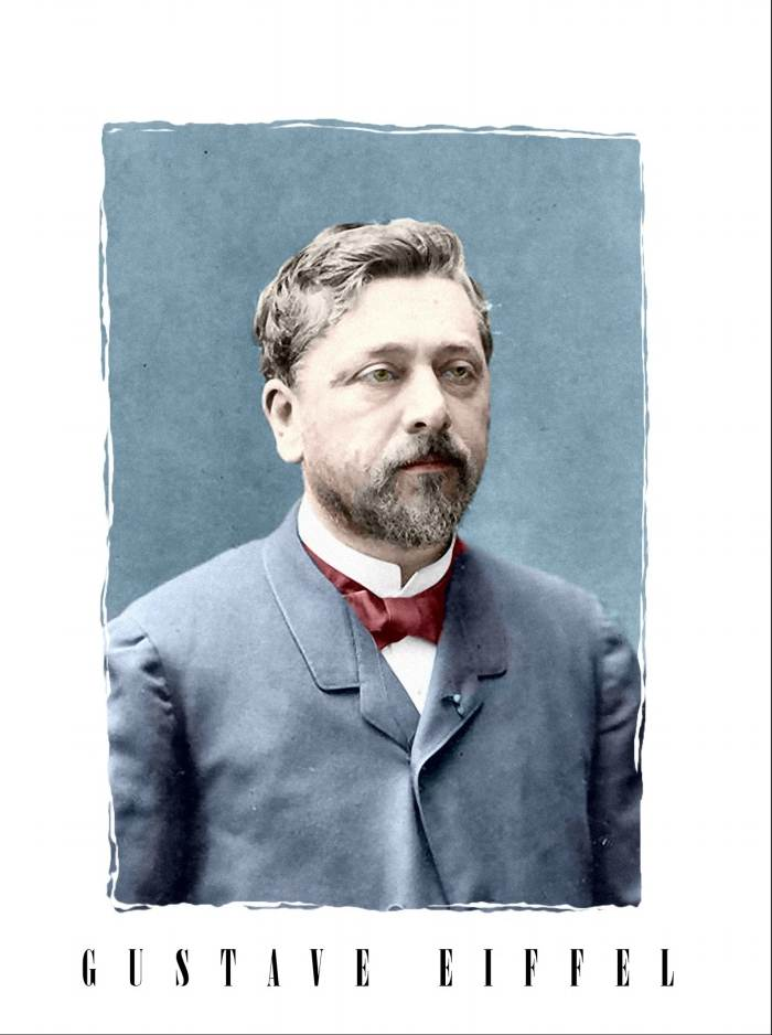 Gustave Eiffel the designer of Eiffel Tower