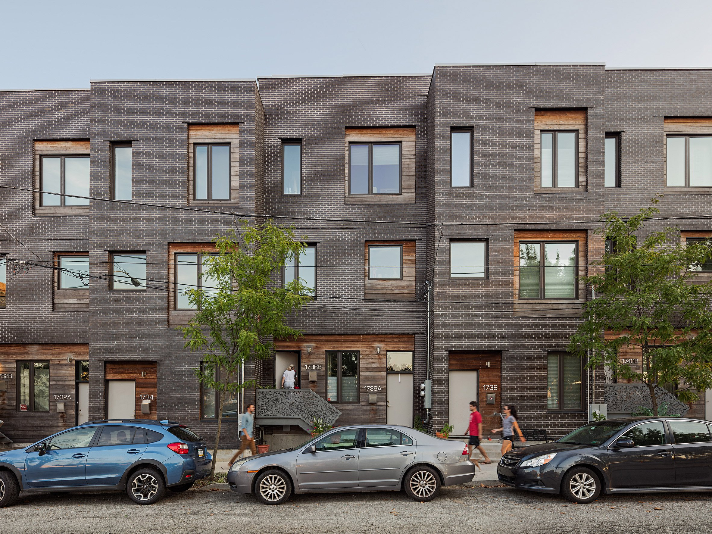 ISA creates hybrid housing complex for gentrifying neighbourhood in Philadelphia