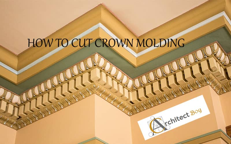 cutting crown molding angles chart