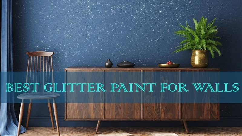 glitter for wall paint