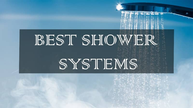 top luxury shower systems